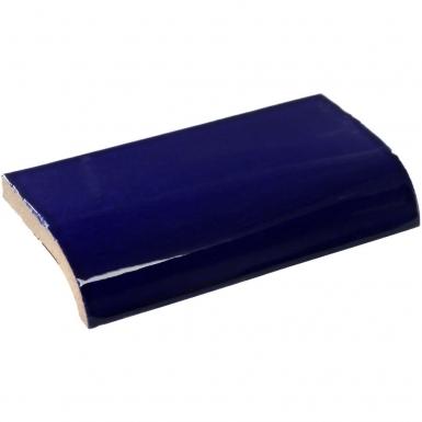 Mud Bullnose: Cobalt Blue - Talavera Mexican Tile