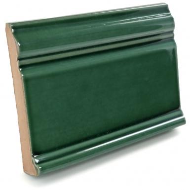 Base Molding: Verde Hoja Talavera Mexican Tile