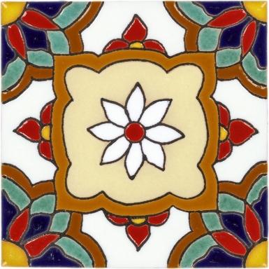 Jazmin 2 Santa Barbara Ceramic Tile
