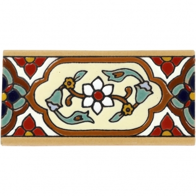 Jazmin 2 Santa Barbara Ceramic Tile