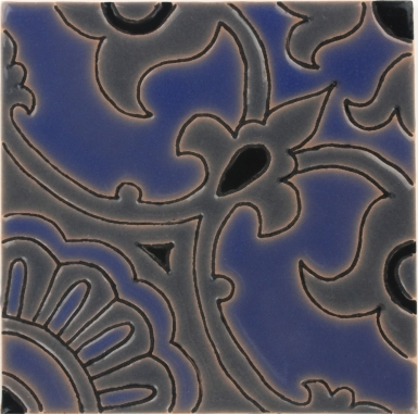 Avidan Gray & Blue Gloss Santa Barbara Ceramic Tile