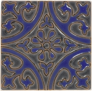 La Quinta Gray & Blue 1 Gloss Santa Barbara Ceramic Tile