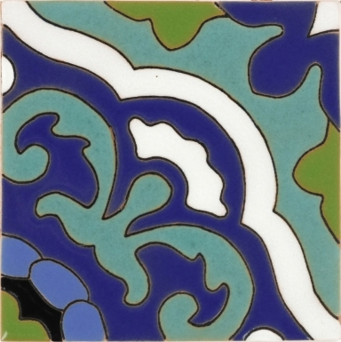 Gardena Blue Santa Barbara Ceramic Tile