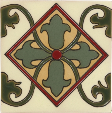 Olive Almeria Santa Barbara Ceramic Tile