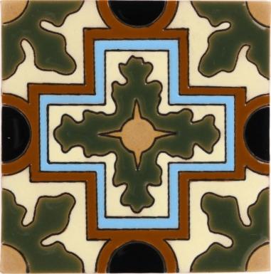 Olive Franciscano Santa Barbara Ceramic Tile