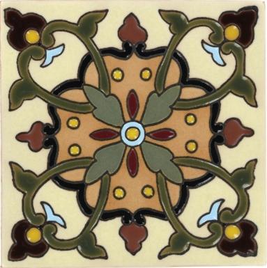 Olive Alameda Santa Barbara Ceramic Tile