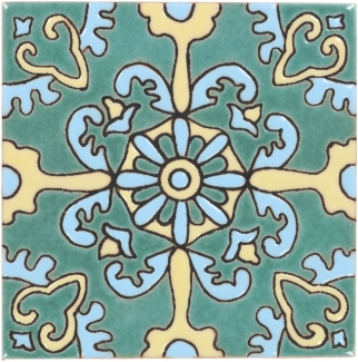 Zoom View All Decorative Santa Barbara Ceramic Tile