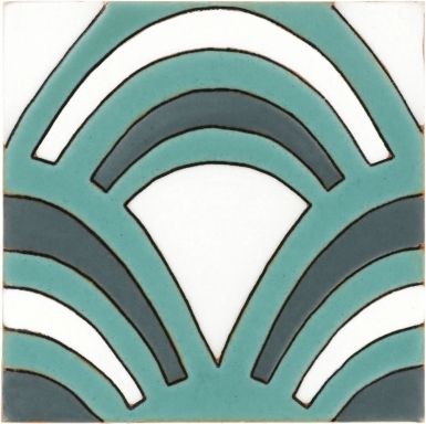 Caire Light Teal Matte Santa Barbara Ceramic Tile