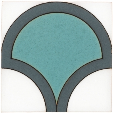 Bell Light Teal Matte Santa Barbara Ceramic Tile
