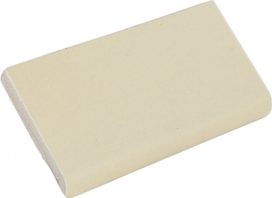 Surface Bullnose: Yellow Quartz Matte - Santa Barbara Ceramic Tile