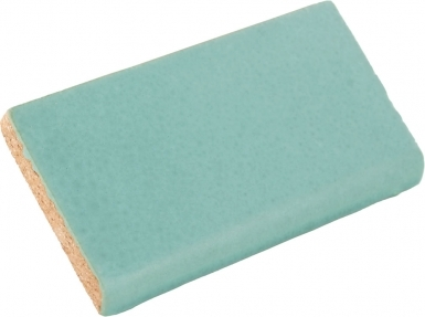 Surface Bullnose: Light Teal Matte - Santa Barbara Ceramic Tile