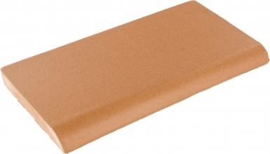 Surface Bullnose: Caramel Matte - Santa Barbara Ceramic Tile