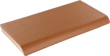 Surface Bullnose: Toasted Chesnut Matte Santa Barbara - Ceramic Tile