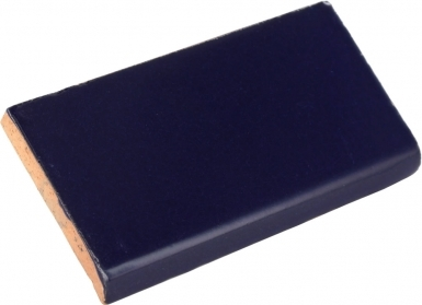 Surface Bullnose: Sapphire Gloss - Santa Barbara Ceramic Tile