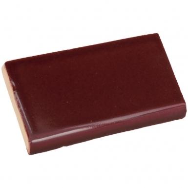 Surface Bullnose: Merlot Gloss - Santa Barbara Ceramic Tile