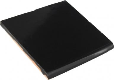 Surface Bullnose: Obsidiana Gloss - Santa Barbara Tile