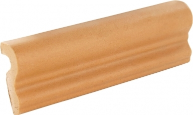 Chair Rail: Caramel Matte - Santa Barbara Ceramic Tile