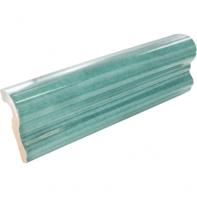 Chair Rail: Jade Gloss - Santa Barbara Ceramic Tile