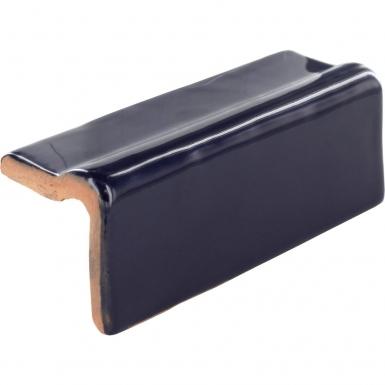 Rail V-cap: Sapphire Gloss - Santa Barbara Ceramic Tile