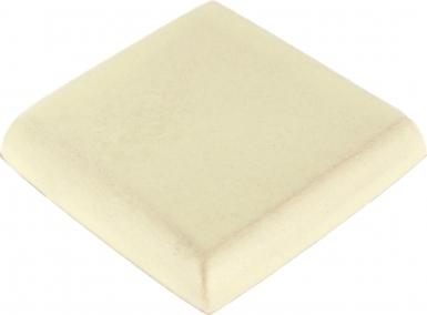 Double Surface Bullnose: Yellow Quartz Matte - Santa Barbara Tile