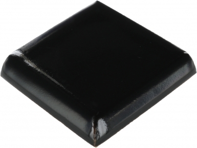 Double Surface Bullnose: Obsidiana Gloss - Santa Barbara Tile