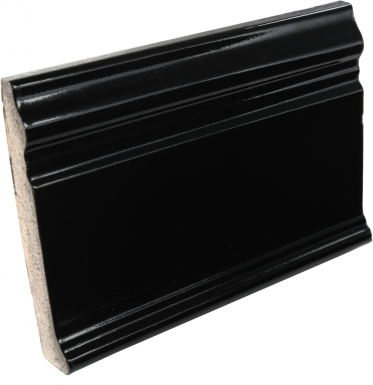 Base Molding: Obsidiana Gloss - Santa Barbara Ceramic Tile