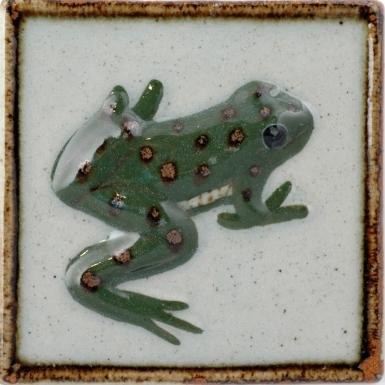 Frog Tenampa Stoneware Tile