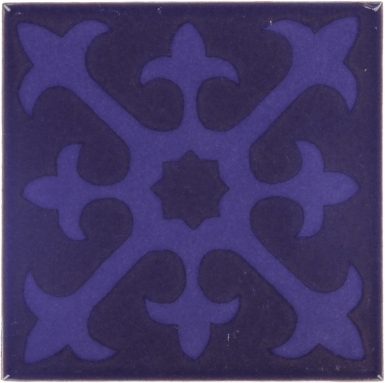 Lourmarin Hancrafted Ceramic Tile