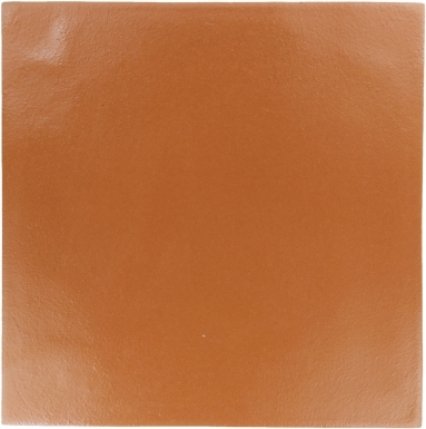 "8.25"" x 8.25"" Copper Semi Gloss - Tierra High Fired Glazed Field Tile"