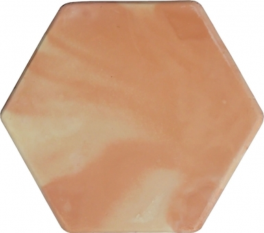 "11.75"" x 11.875"" Unsealed Hexagon Super Saltillo Round Edges - Floor Tile"