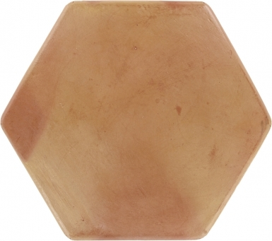 "11.75"" x 11.75"" Sealed Hexagon Super Saltillo Round Edges - Floor Tile"