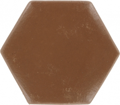 "7.875"" x 8.875"" Sealed Hexagon - Spanish Mission Red Floor Tile"