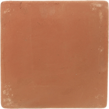 "12"" x 12"" Unsealed Spanish Mission Red Floor Tile"