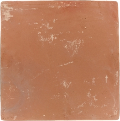 "16"" x 16"" Unsealed Spanish Mission Red Floor Tile"