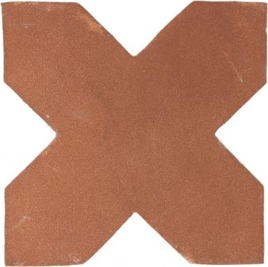 "4.25"" x 4.25"" Cross 1 - Tierra High Fired Floor Tile"