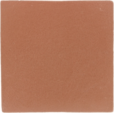 """8.25"""" x 8.25"""" Red Earth Matte - Tierra High Fired Glazed Field Tile"""