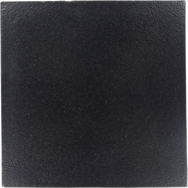 "8.25"" x 8.25"" Slate Black Low-Luster - Tierra High Fired Glazed Field Tile"