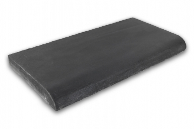 Surface Bullnose: Black - Barcelona Cement Floor Tile