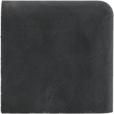 Double Surface Bullnose: Black - Barcelona Cement Floor Tile