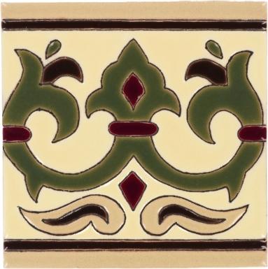 Olive Alcazar 1 Gloss Santa Barbara Ceramic Tile