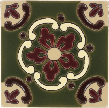 Olive Doris Gloss Santa Barbara Ceramic Tile