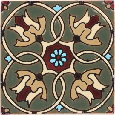 Olive Cambria Gloss Santa Barbara Ceramic Tile