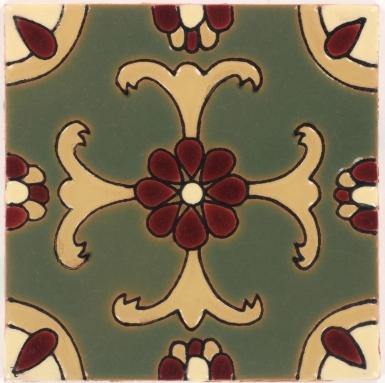 Olive Malibu Gloss Santa Barbara Ceramic Tile