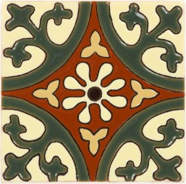Olive La Quinta 1 Gloss Santa Barbara Ceramic Tile