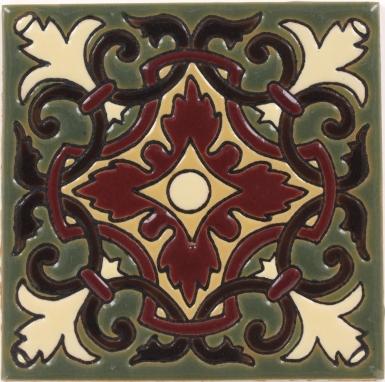 Olive Trinidad Gloss Santa Barbara Ceramic Tile