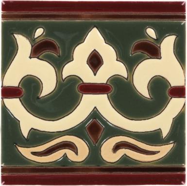 Olive Alcazar 2 Gloss Santa Barbara Ceramic Tile