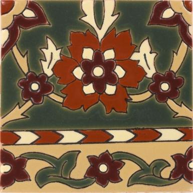 Olive Pasadena Gloss Santa Barbara Ceramic Tile