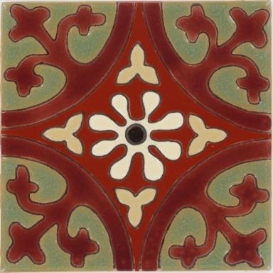 Olive La Quinta 2 Gloss Santa Barbara Ceramic Tile