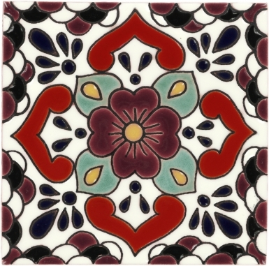 Manzanilla 2 Gloss Santa Barbara Ceramic Tile