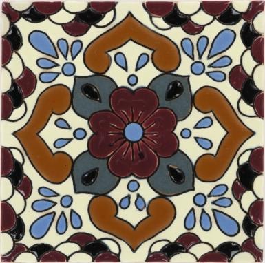 Manzanilla 3 Santa Barbara Ceramic Tile